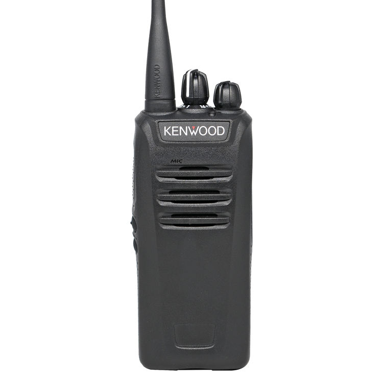 Jarak Jauh Kenwood NX-240/340 Nexedge VHF/UHF Digital & FM Radio Portabel
