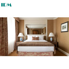 IDM-550 China Custom Made Modern Hotel Furniture Set For 3 4 5 Star Hotel Bedroom