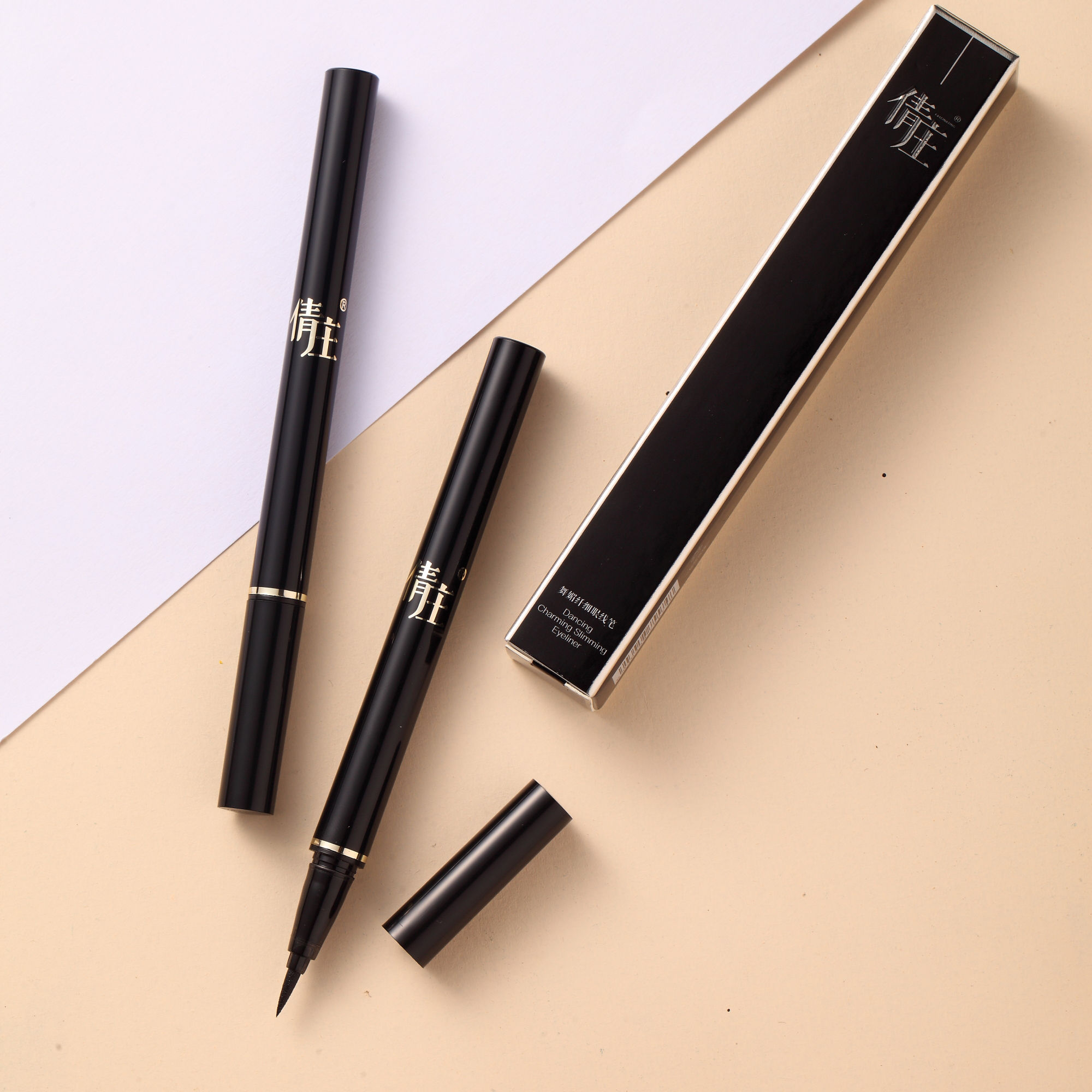 QZ Thin and clear non-makeup, water-proof eye-line pen