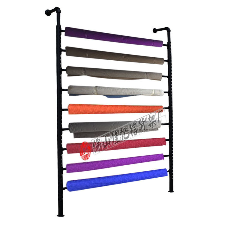 metal fabric roll display stands fabric bolt storage rack display stand for fabric rolls carpet storage rack