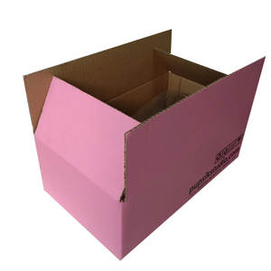 Shipping or moving paper boxes custom corrugated carton packaging from china manufacturer