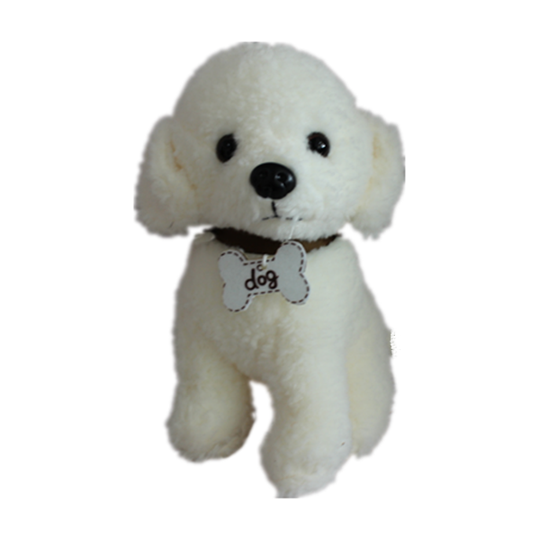 RTS white bunny puppy custom designer indestructible plush teddy bear dog toy set toys