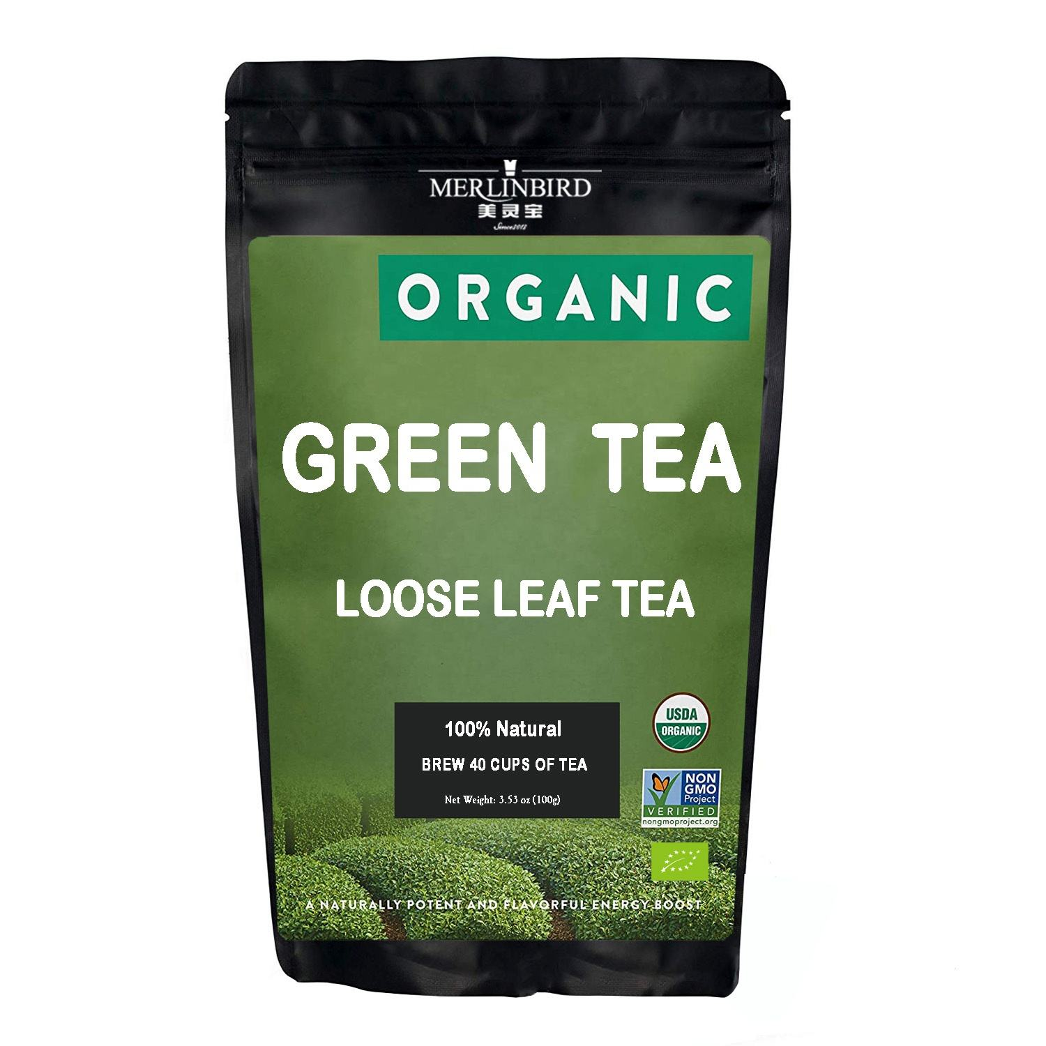 Wholesale 100% Natural Chinese Organic Green Tea Leaves