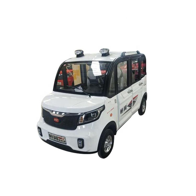 New four wheel eec approved electric car with good price