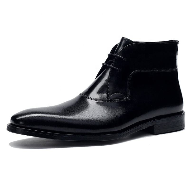 Style américain Chaussures Habillées En <span class=keywords><strong>Cuir</strong></span> Véritable Cheville Hiver <span class=keywords><strong>Chukka</strong></span> <span class=keywords><strong>Bottes</strong></span> Hommes