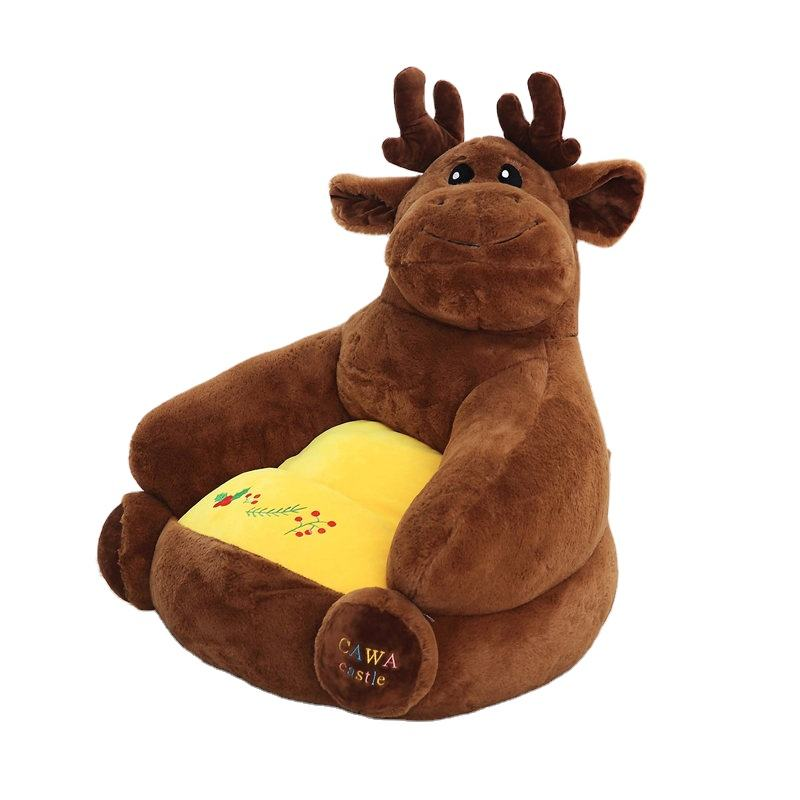 wholesale Children's Plush kids cartoon sofa Sit Chair KeepSitting Posture For Baby Gift