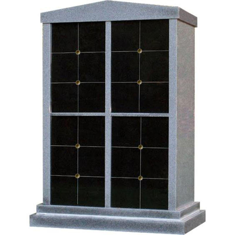 Monument Gravestone Headstone Tombstone Head Marker Cremation Columbarium in Granite Stone Polished