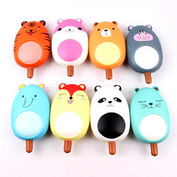Cute Animals Popsicles Toys Wholesale Factory Sale Price Kawaii Squishy Stress Relief Toy