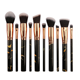 10 Pcs Set Brush Makeup Set 10 Pcs Marble Plastic Handle Soft Hair Makeup Brush Set Custom
