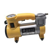 DC12v 150psi super mini compressor air compressor with light tire inflator gauge tyre inflators