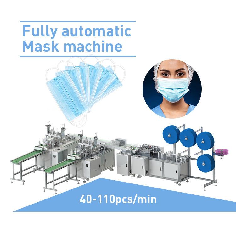 <span class=keywords><strong>Nonwoven</strong></span> tıbbi cerrahi yüz maskesi makinesi