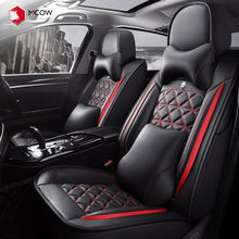 Factory Price Fashion Universal PU Leather Look Car Seat Covers With Customized