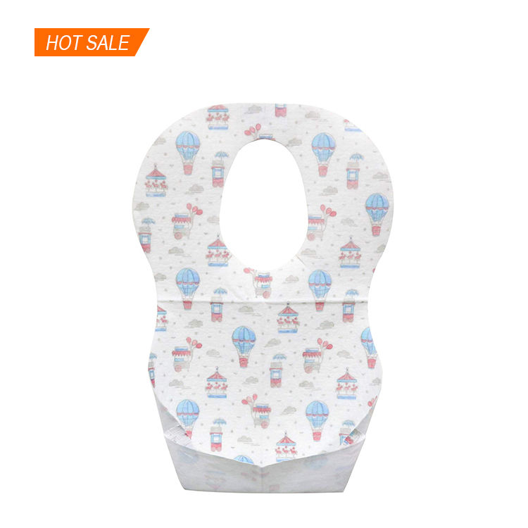 Disposable Wholesale waterproof infant baby bibs towels