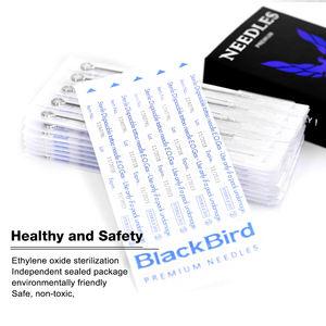 Hot Sale 50 pcs # 12 RL Blackbird Disposable Sterilized Tattoo Needles For Tattooist