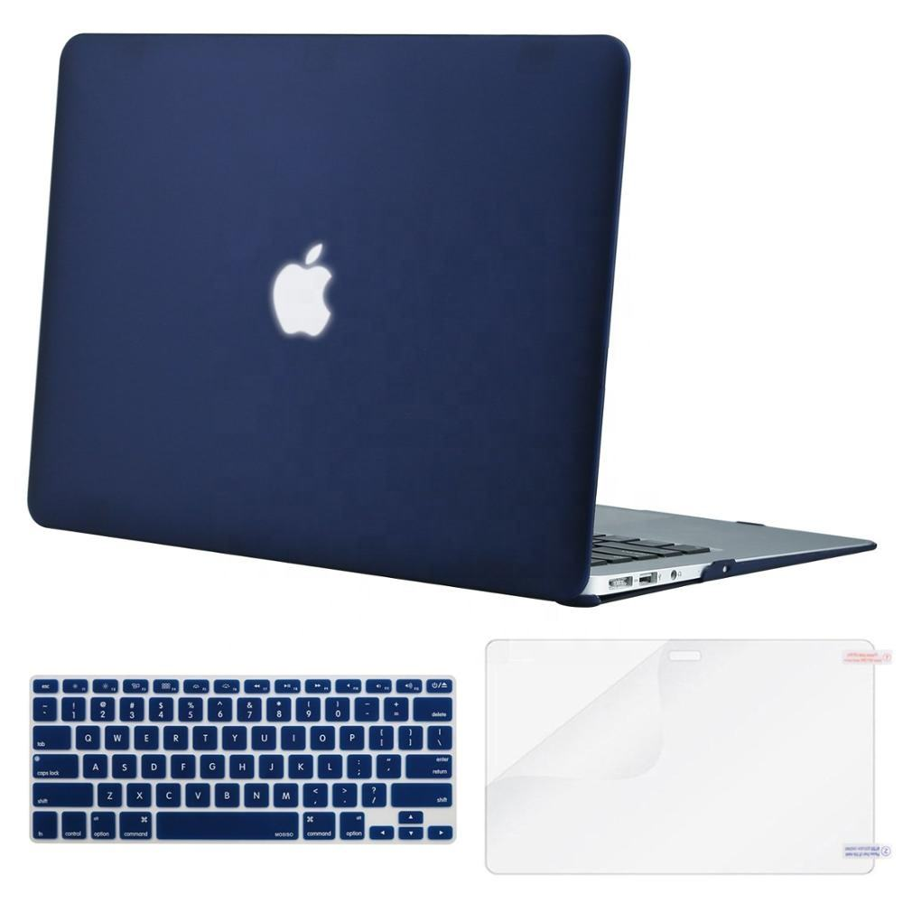 Factory Wholesale Screen Protector Keyboard Cover Matte Cover Hard Shell Case For MacBook Pro 13 Air 13 Pro 15 Retina 13