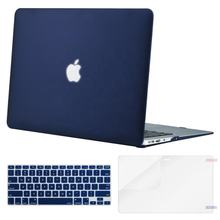 Factory Wholesale Screen Protector Keyboard Cover Matte Hard Shell Case for Apple MacBook Pro 13 Air 13 Pro 15 Retina 13