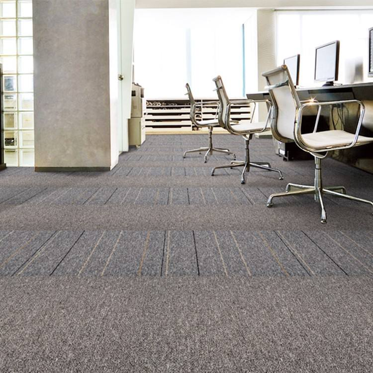 Innovflooring carpet tiles plush commercial carpet mat tile for office