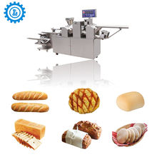 Industrial Hamburger Buns Bread Making Machine automatic bakery equipment bread machinery
