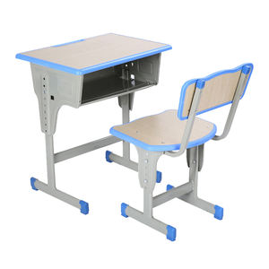 Luoyang school equipment supplier cheap school desk and chair / study desk for kids