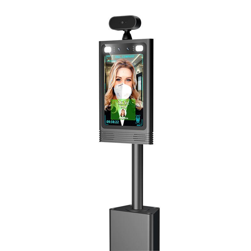 8 дюймов AI Смарт Распознавание лиц терминал контроля доступа