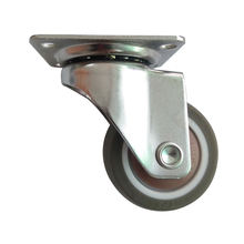 "High Quality Light Duty 1.5"" swivel TPR Swivel caster wheel For Industrial/ Business"