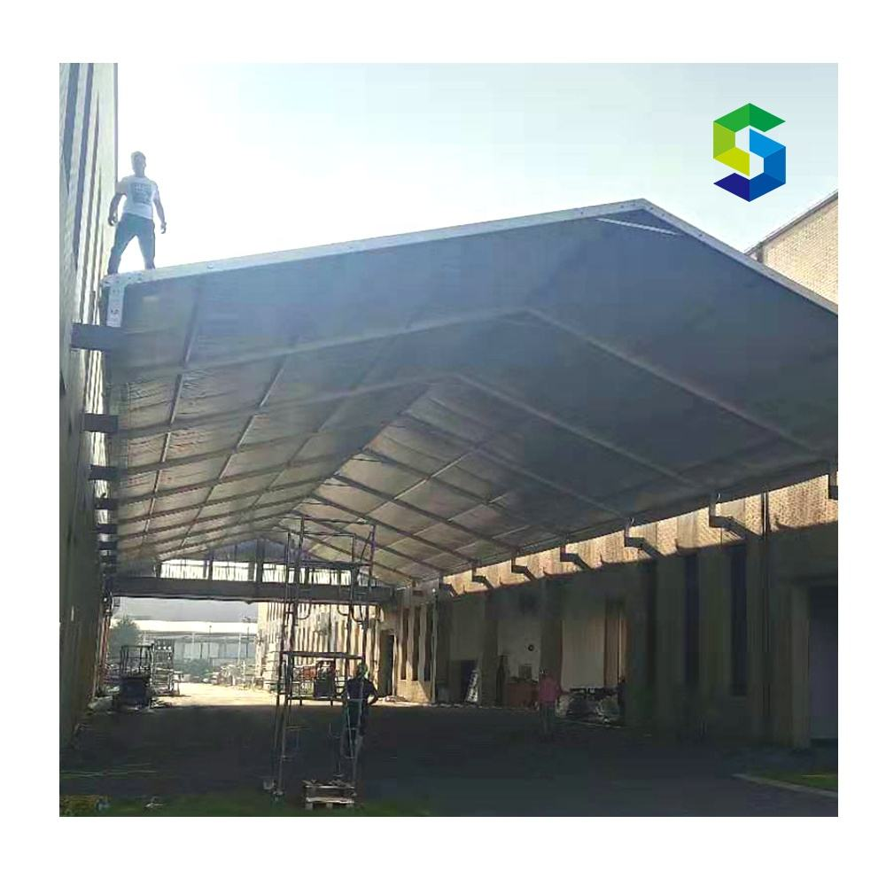 Jiangsu manufacture aluminum structure a frame house outdoor tent hotel for resort