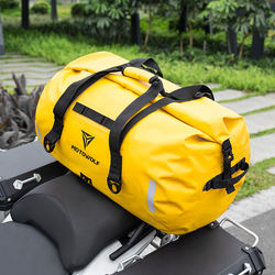 New Tail Bag with Side Pockets Multi-functional Large Capacity Bicycle Rear Bag