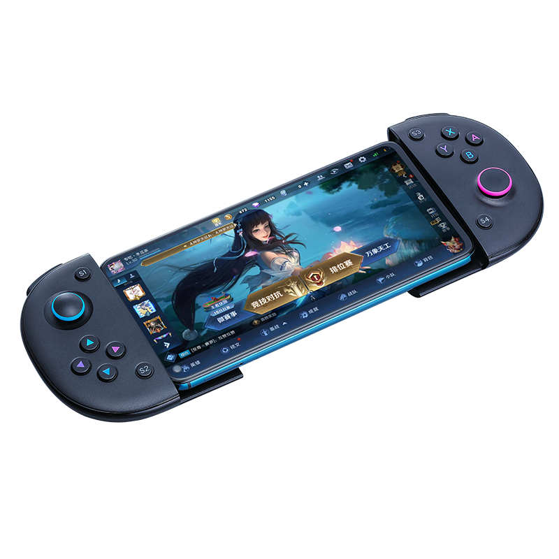 USB Type-C Mobile Telescopic Gaming Controller 3D Joystick Game Controller Phone Gamepad