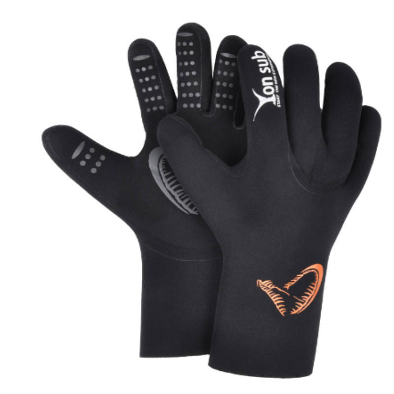 Antiskid diving gloves for snorkeling and swimming spearfishing