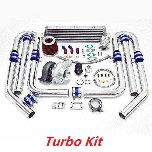 T3 T4 T04E .63 600hp Charging Boost Turbo Kit for 2015 Toyota Highlander Tacoma Venza 2.7L