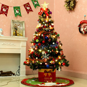 1.8 m PVC Christmas tree encryption Christmas tree for Christmas decoration