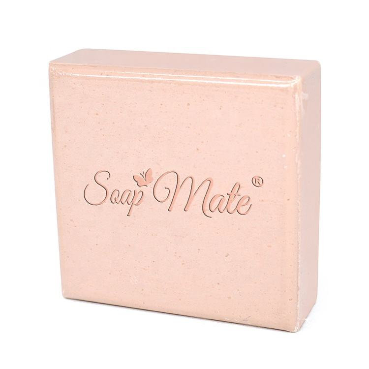 Wholesale Whitening Soap Pink Square Glycerine Soap Cheap Bathing Soap In China