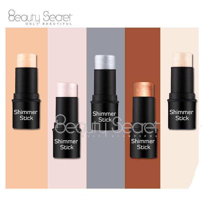 Personnalisé Bronzer Holographique Crème Vegan <span class=keywords><strong>Maquillage</strong></span> Surligneur <span class=keywords><strong>Bâton</strong></span>