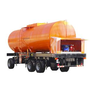 Mobile portable filling gas station for petrol PR-MODEL