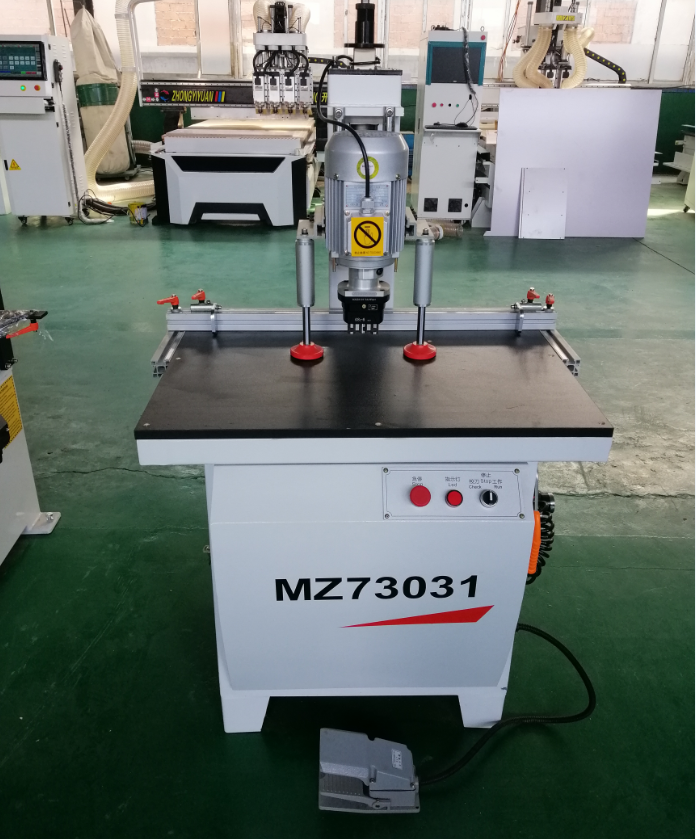 Single heads hinge drilling machine wood boring machine for cabinet door