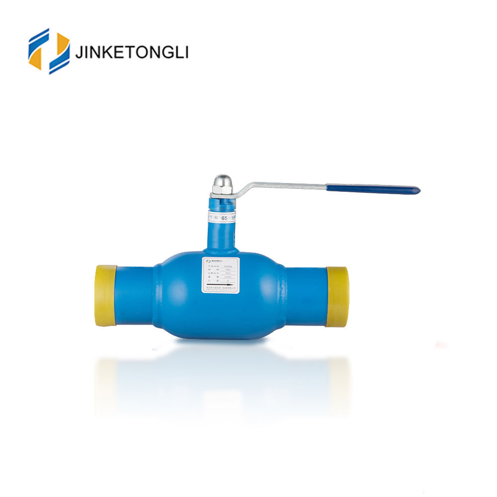 dn150 dn200 full bore shut off type welding connection handle fully welded ball valve