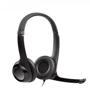 Official Logitech H390 USB Headset with Noise-Cancelling Microphone Padded Headband