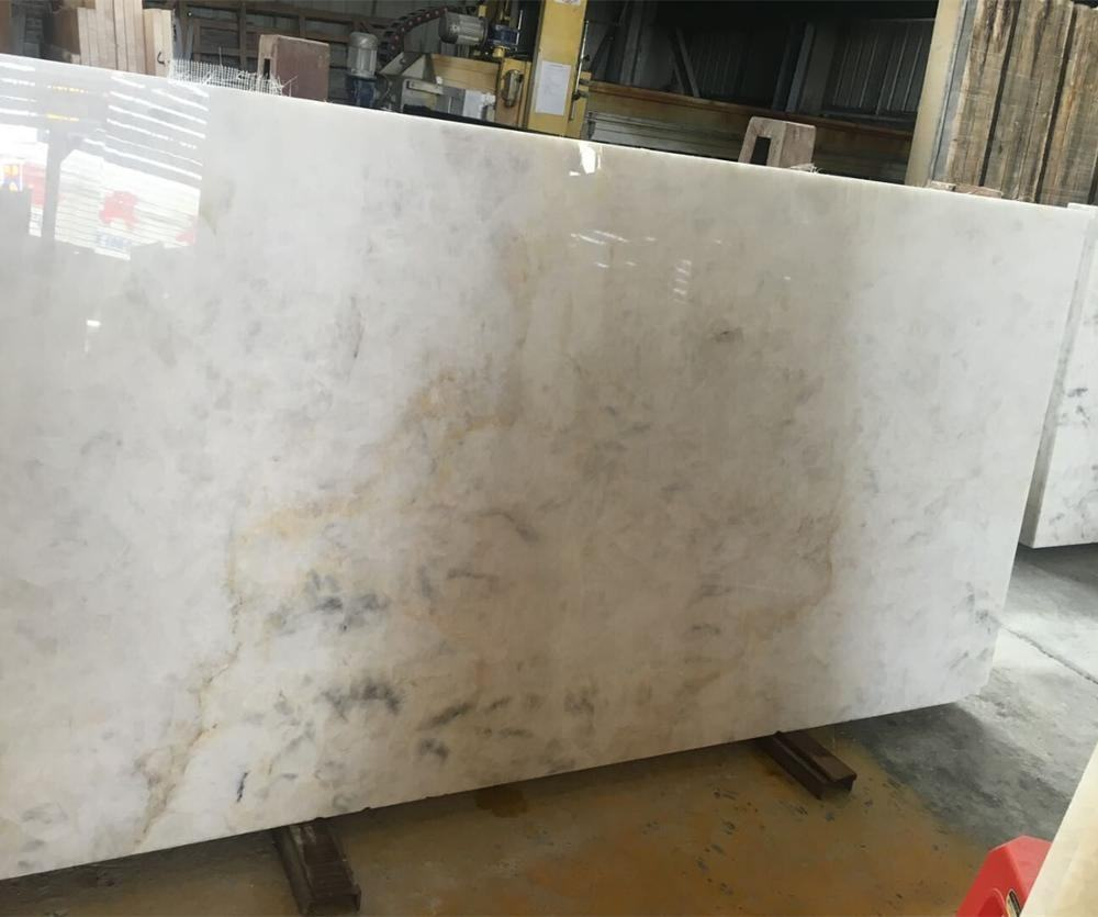 Cheapest Crystal White Onyx Slabs Natural stone Translucent Onyx Tiles