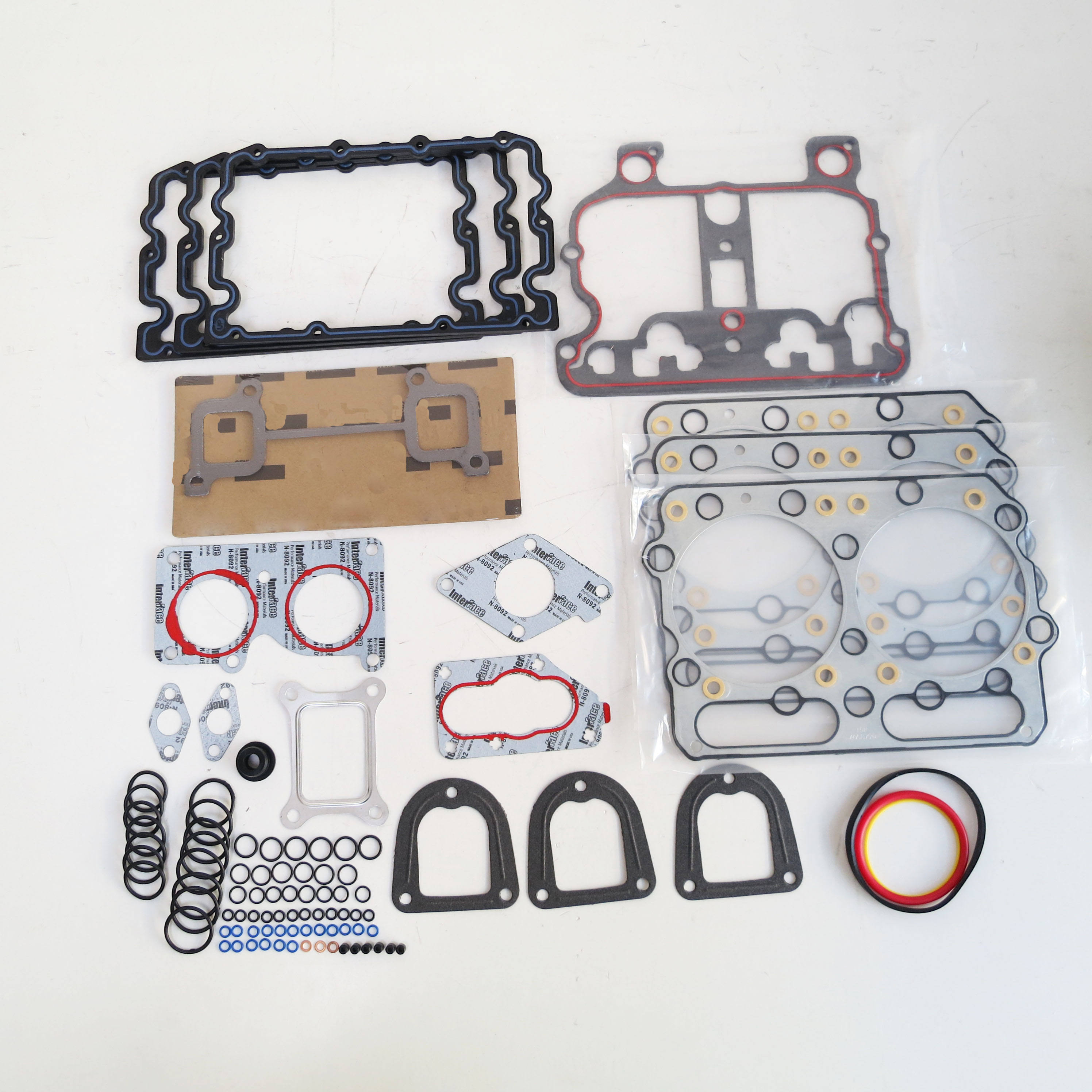 N14 Repair gasket kit upper and lower 4089371 cylinder head gasket kits for diesel truck engine