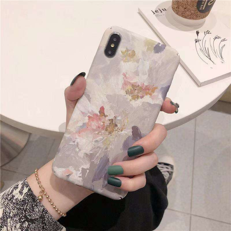 Vintage oil paintings of flowers Mobile Phone Bags Designer Luxury for iPhone 12mini 12 12pro max 11nPro Max XS XR phone case