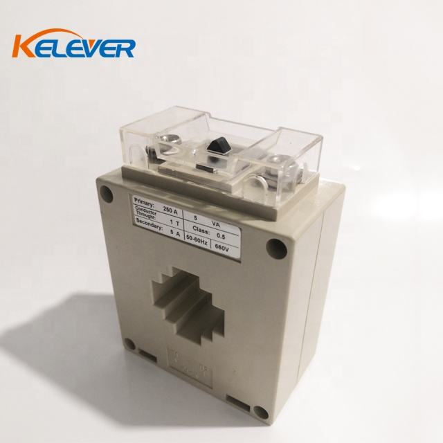 Factory price MSQ-30 low voltage ct current transformer of 250/5A