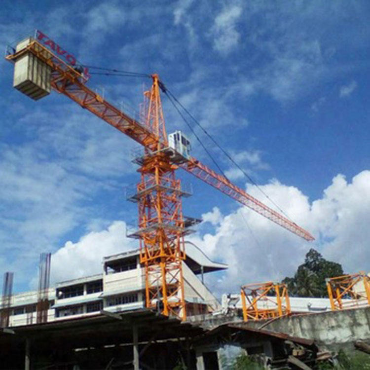 Max Load 4ton 6ton 8ton Top Kit Tower Crane and Boom 60m consturction Machinery Tower Crane