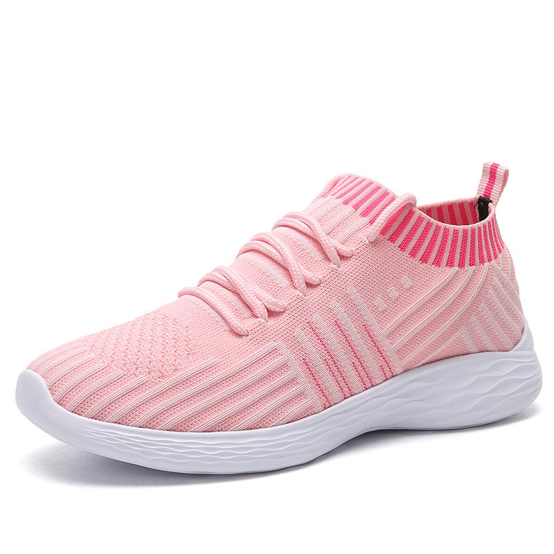 Lace up ladies casual footwear 2019 fashion women sneakers shoes zapatillas mujer