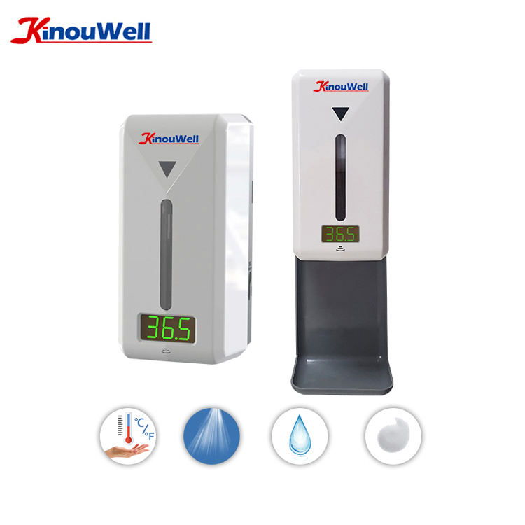 Wall Mount Auto Detect Temperature Thermometer, Smart Temperature Kiosk, Thermal Temperature Kiosk