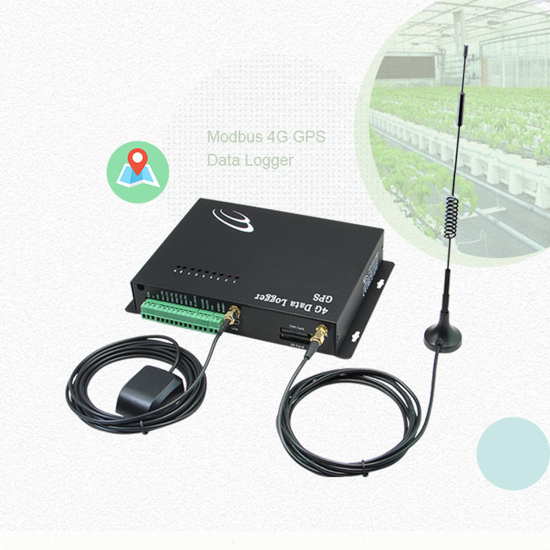 10 Ingressi digitali Multipoint Modbus 4G Data Logger rtk gps per smart farm