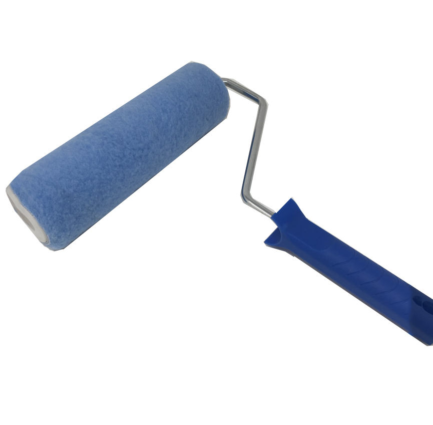 Blue Color Polyester Paint Roller Cage Type Paint Tools