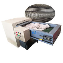Memory card making machine polyester fiber opening cotton waste carding machine