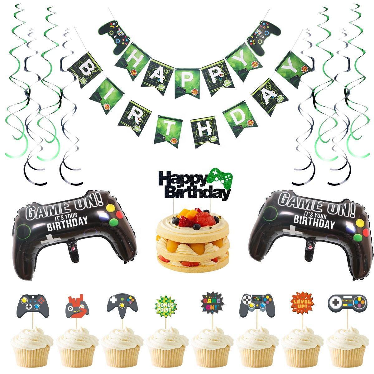 Xiamen Stone New Original Design Video Game Party Birthday Party Supplies, Fiesta De Cumpleaos, Baby Shower Party Supplier