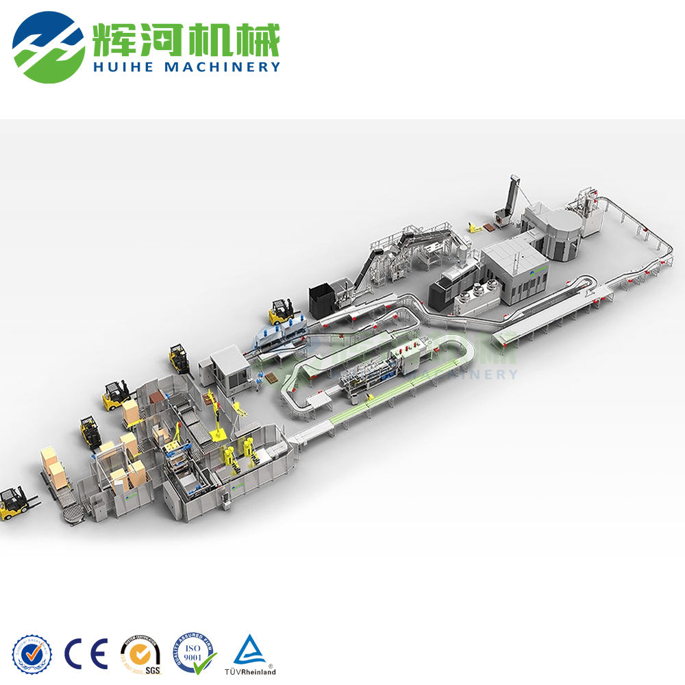 Factory make carbonated soft drink production line
