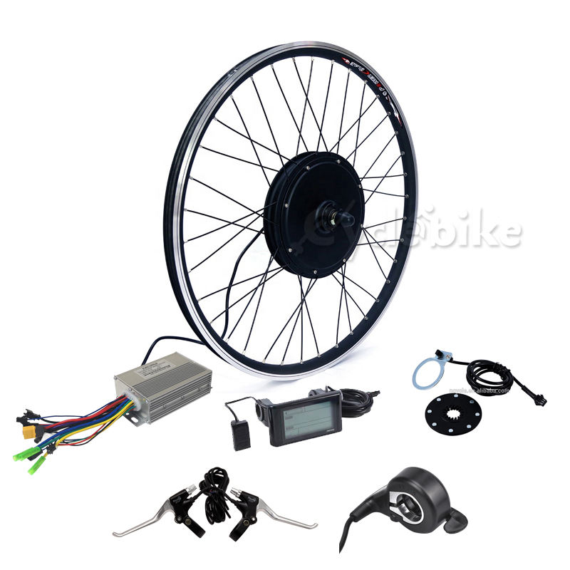 China produced 45km/h electric bicycle motor conversion kit bike kit from factory